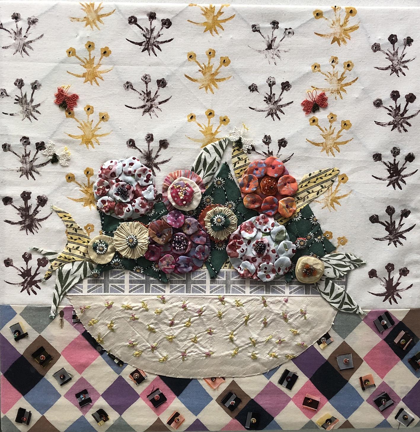 2012 floral bowl